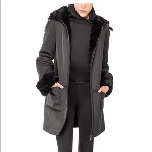 Leon Max / Maxstudio Black Long Coat